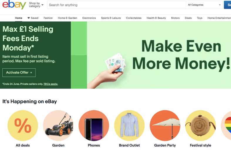 eBay通过个性化的方式提供量身定制的体验