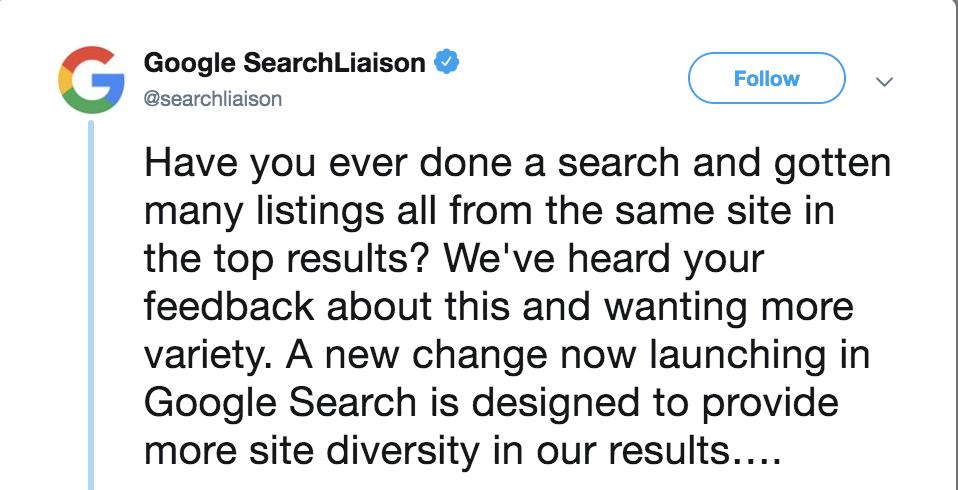 谷歌搜索多样性更新挑战亚马逊搜索的主导地位