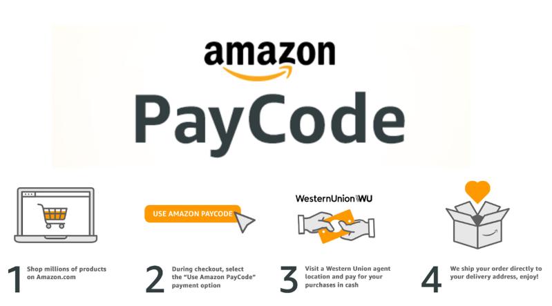 亚马逊(Amazon)利用亚马逊支付码(Amazon PayCode)吸引依赖现金的美国消费者