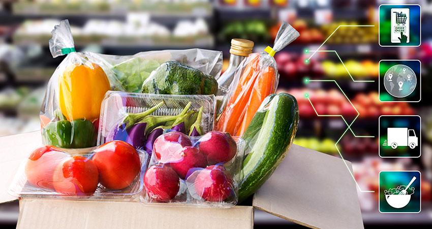 亚马逊,沃尔玛将在2024年主导电子杂货食品销售