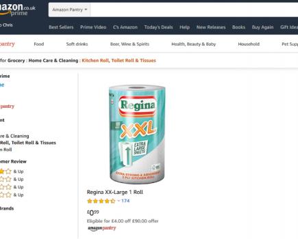 亚马逊货物短缺,购物者恐慌购买