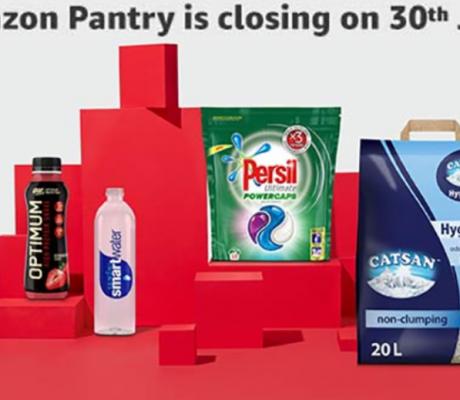 Amazon Pantry停产,但Amazon Fresh和Prime Now提供更大范围 服务