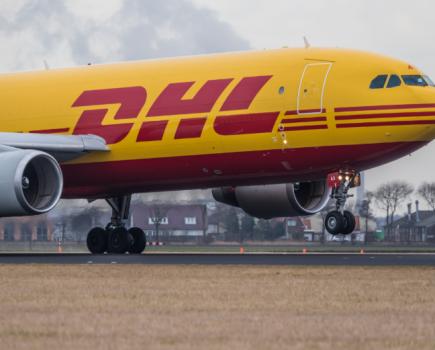DHL全球货运公司对抗COVID-19