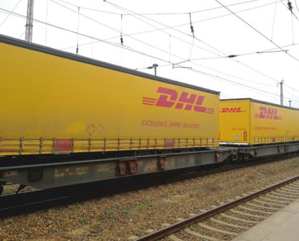 DHL全球货运公司引入德国至中国的货运直达列车专线