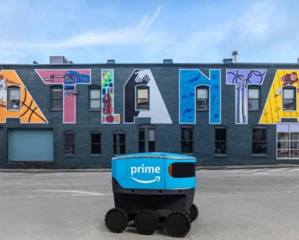 Amazon Scout在美国的两个新地点运营
