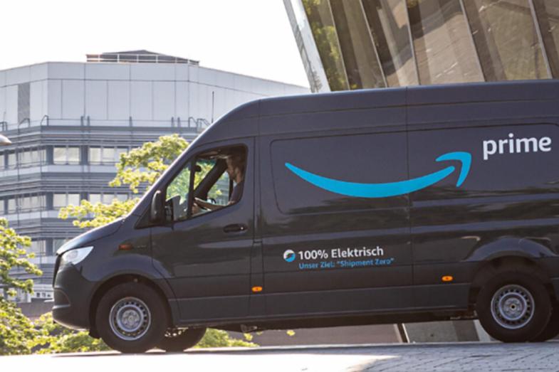 亚马逊将在欧洲增加1800辆电动汽车的配送队伍