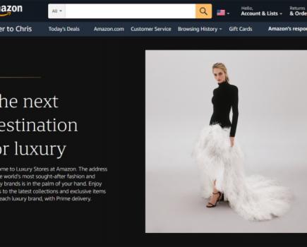 亚马逊奢侈品店与奥斯卡·德拉伦塔合作