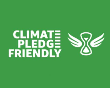 """亚马逊推出""""气候友好承诺""""标签"""