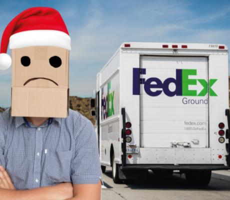 亚马逊不相信联邦快递能在圣诞节按时送货