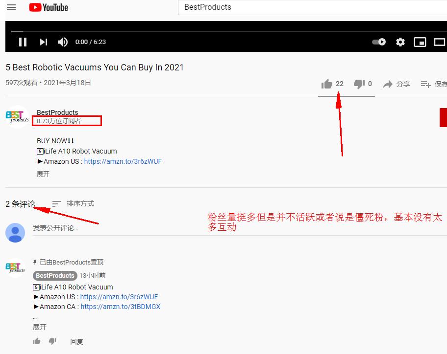 独立站YouTube红人定位、筛选和引流